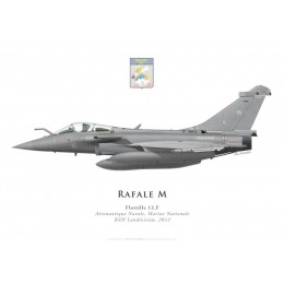 Dassault Rafale M No 15, Flottille 12.F, French naval aviation, 2012