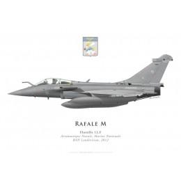 Dassault Rafale M15, Flottille 12.F, BAN Landivisiau, 2012