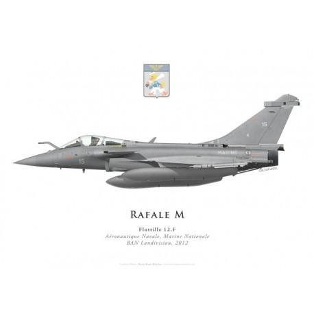 Dassault Rafale M No 15, Flottille 12.F, French naval aviation, 2012