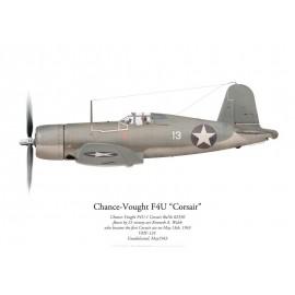 F4U-1 Corsair, Kenneth Walsh, VMF-124, Guadalcanal, May 1943