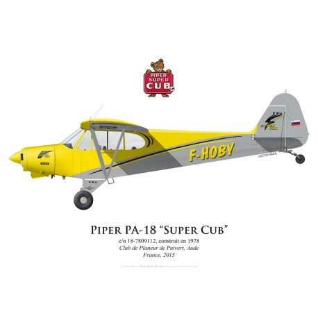 Piper PA-18 Super Cub F-HOBY