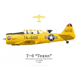 "North American T-6G Texan ""Ready for Duty"", F-AZBL"