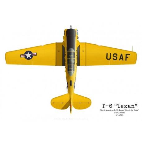 """T-6G Texan """"Ready for Duty"""", F-AZBL"""