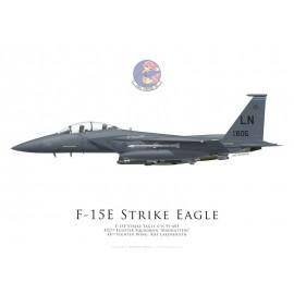 F-15E Strike Eagle, 492nd Fighter Squadron, 48th Fighter Wing, Lakenheath