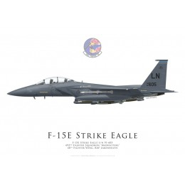 F-15E Strike Eagle, 492nd Fighter Squadron, 48th Fighter Wing, Lakenheath