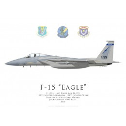 F-15C Eagle, 159th Fighter Squadron, 125th Fighter Wing, Florida ANG