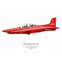 Pilatus PC-21, HB-HZC, troisième prototype