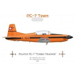 Pilatus PC-7 A-922, PC-7 Team, Forces Aériennes Suisses