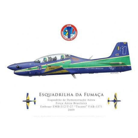 "T-27 Tucano, Patrouille acrobatique ""Esquadrilha da Fumaça"", Força Aérea Brasileira"