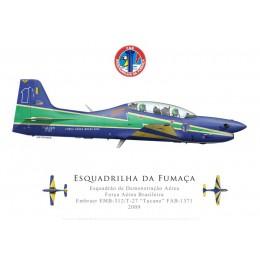 T-27 Tucano, Esquadrilha da Fumaça demonstration team, Força Aérea Brasileira