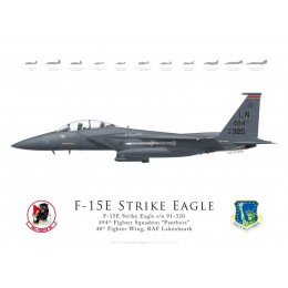 F-15E Strike Eagle 91-320, 494th Fighter Squadron, 48th Fighter Wing, Lakenheath