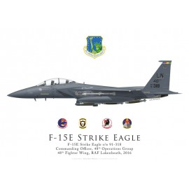 F-15E Strike Eagle, CO 48th Operations Group, 48th Fighter Wing, Lakenheath