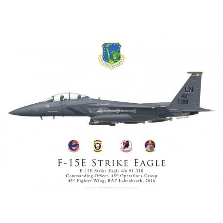 F-15E Strike Eagle 91-318, CO 48th Operations Group, 48th Fighter Wing, Lakenheath
