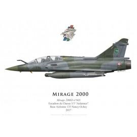 """Mirage 2000D, EC 3/3 """"Ardennes"""", 2017"""