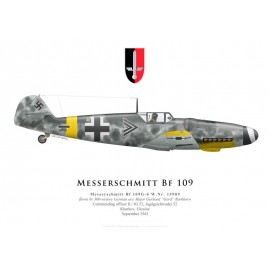Bf 109G-6, Major Gerhard Barkhorn, II./JG 52, 1943