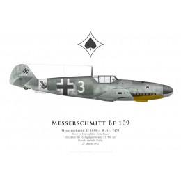 Bf 109F-4, Uffz Felix Sauer, 10. (Jabo)/JG 53, 1942