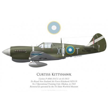Curtiss Kittyhawk Mk III, N5813, Tri-State Warbird Museum