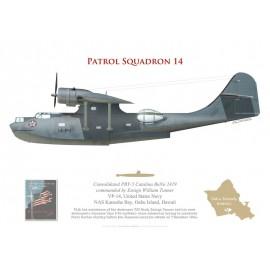 PBY-5 Catalina, Ens. William Tanner, VP-14, Pearl Harbor, 7 December 1941