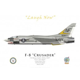 "F-8J Crusader, VF-53 ""Iron Angels"", NAS North Island, 1969"