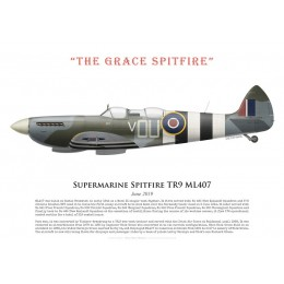 "Supermarine Spitfire TR9 ML407, ""The Grace Spitfire"", juin 2019"