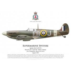 Spitfire Mk Vb, S/L Lionel Gaunce, No 41 Squadron, Royal Air Force, août 1941