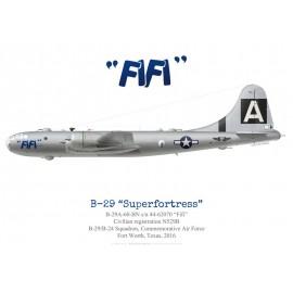 "B-29 Superfortress ""Fifi"", Commemorative Air Force, 2016"