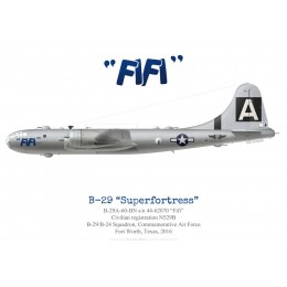 "Boeing B-29 Superfortress ""Fifi"", Commemorative Air Force, 2016"