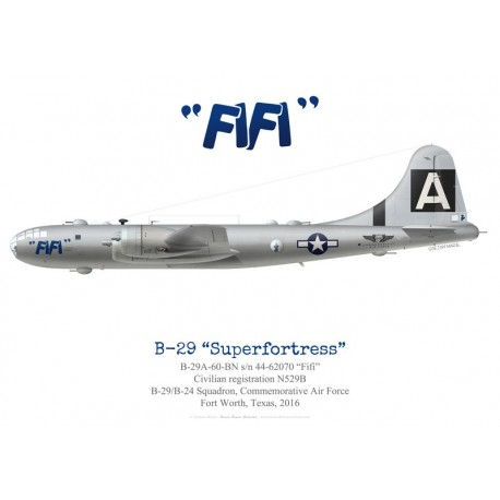 """Boeing B-29 Superfortress """"Fifi"""", Commemorative Air Force, 2016"""