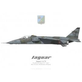 """Jaguar A, EC 4/11 """"Jura"""", BA 106 Bordeaux-Mérignac"""