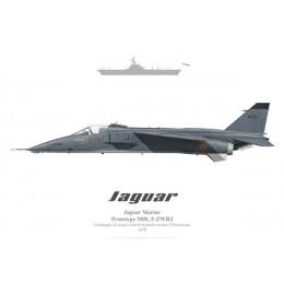 Jaguar M, M05 prototype, Clémenceau aircraft carrier, 1970