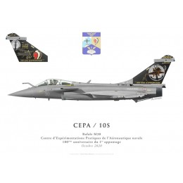 Rafale M30, DET CEPA / 10S, Centenary of the first ship landing, October 2020