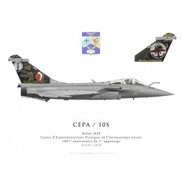 Dassault Rafale M30, DET CEPA / 10S, Centenary of the first ship landing, October 2020