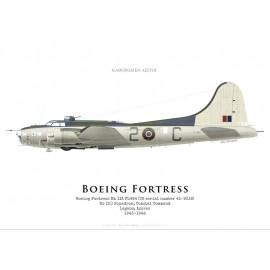 Fortress IIA FL464, No 220 Squadron, Coastal Command, Azores, 1943-1944