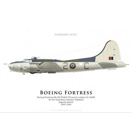 Boeing Fortress IIA FL464, No 220 Squadron, Coastal Command, Azores, 1943-1944