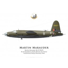 Martin Marauder Mk II FB479, No 24 Squadron SAAF, 1944