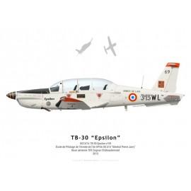 TB-30 Epsilon n°69, EPAA 00.315, BA 709 Cognac-Châteaubernard, 2013