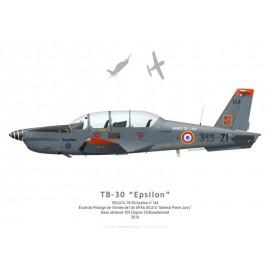TB-30 Epsilon No 144, EPAA 00.315, BA 709 Cognac-Châteaubernard, 2018