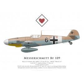"""Bf 109G-2 Trop, """"Black 6"""", G-USTV, RAF Museum Cosford"""