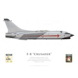 F-8P Crusader, Décoration spéciale Dernier Vol, 1999
