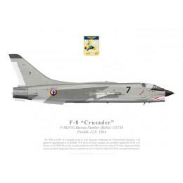 F-8E(FN) Crusader, Flottille 12.F, 1964