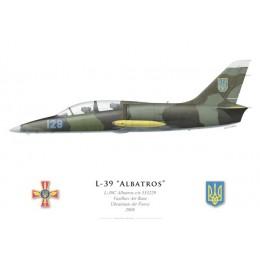 L-39C Albatros, Vasilkov, Armée de l'air ukrainienne, 2008