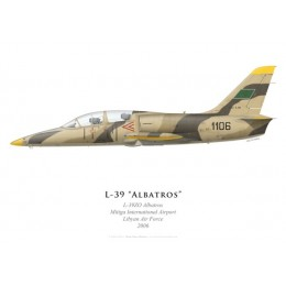 L-39ZO Albatros, Mitiga International Airport, Libyan Air Force, 2006
