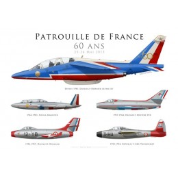 Special: 60th anniversary of the Patrouille de France, 2013