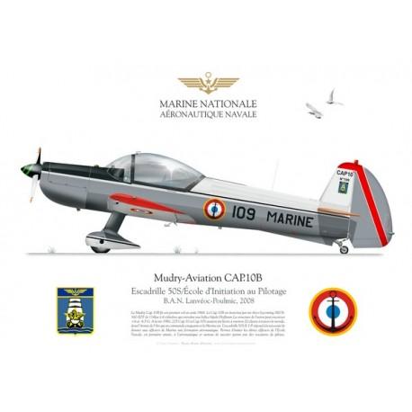 CAP.10B, Escadrille 50.S / Ecole d'Initiation au Pilotage, BAN Lanvéoc-Poulmic, 2008