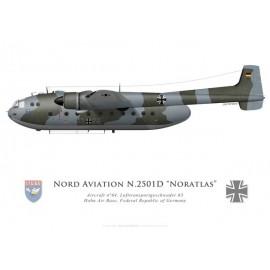 Nord 2501D Noratlas, Lufttransportgeschwader 63, Hohn, RFA