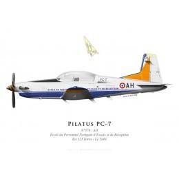 Pilatus PC-7 No 578, École du Personnel Navigant d'Essais et de Réception, French Air Force, BA 125 Istres - Le Tubé