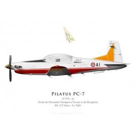 Pilatus PC-7 n°579, École du Personnel Navigant d'Essais et de Réception, BA 125 Istres - Le Tubé