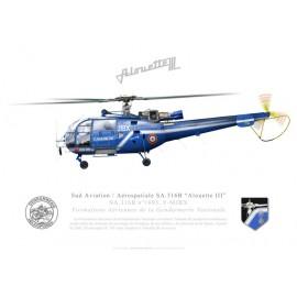 "SA.316B ""Alouette III"", Formations Aériennes de la Gendarmerie Nationale"