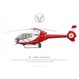 EC120B Colibri, Ecole d'Application de l'Aviation Légère de l'Armée de Terre, Dax