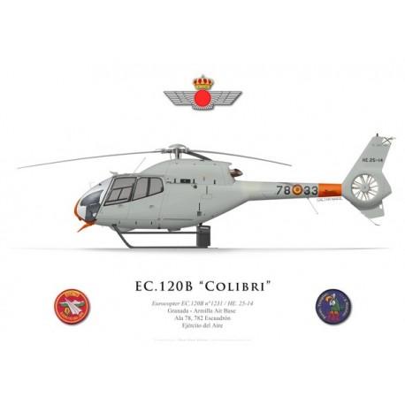 Eurocopter EC 120B Colibri, Ala 78, 782 Escuadrón, Granada - Armilla airbase, Spanish Air Force